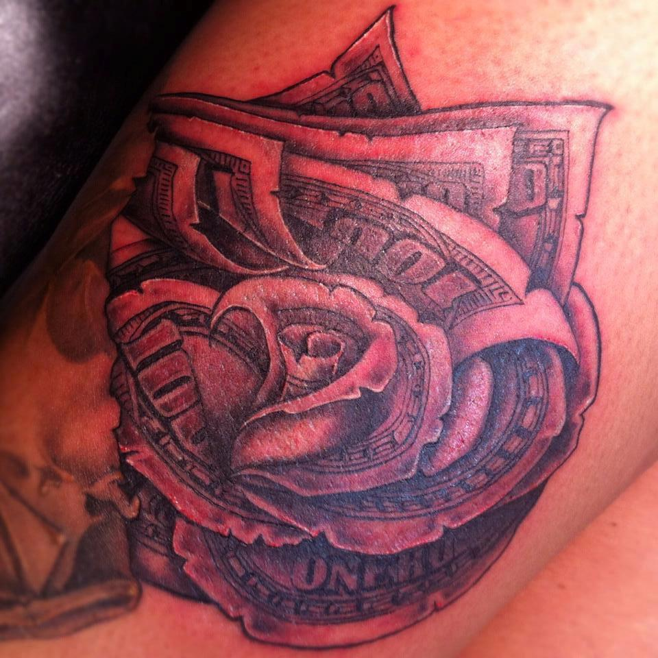 Money Tattoos Designs, Ideas and Meaning | Tattoos For YouMoney Sign Tattoo Designs