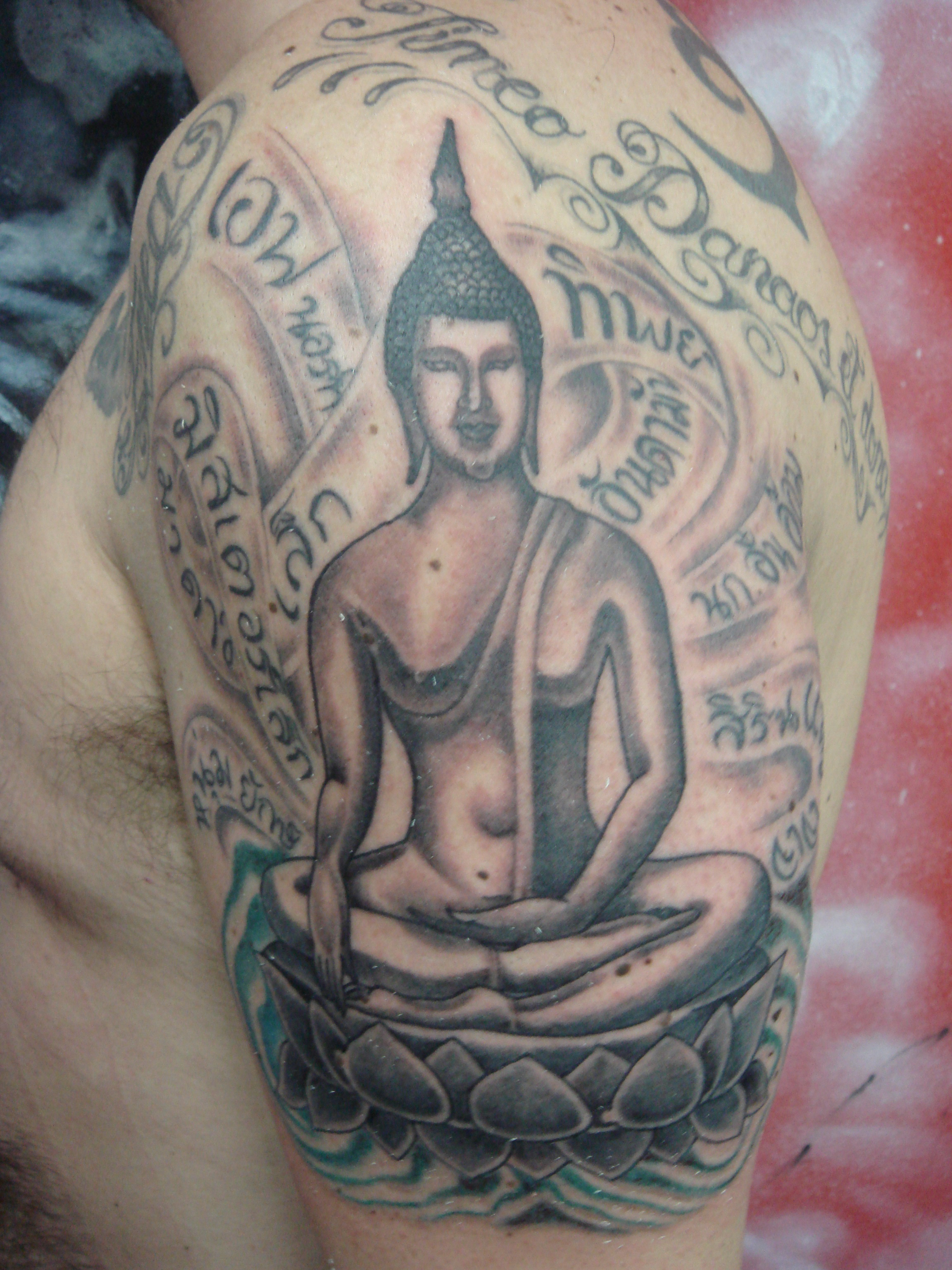buddhist tattoos designs ideas and meaning tattoos for you. Black Bedroom Furniture Sets. Home Design Ideas