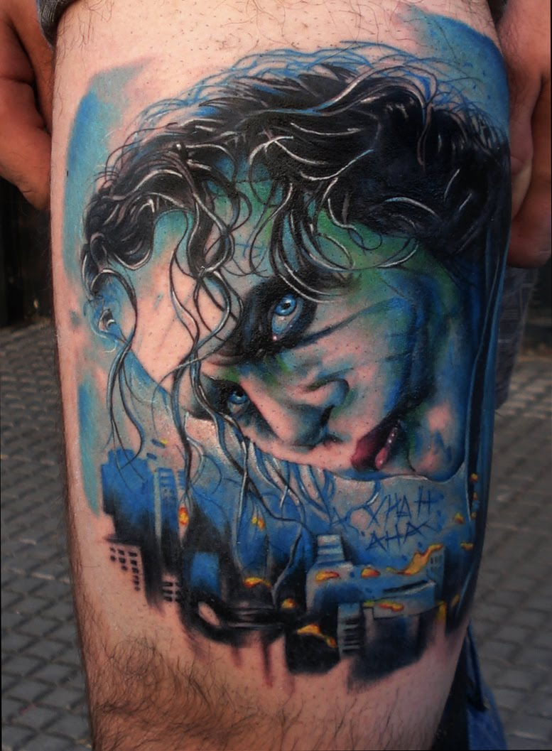 joker tattoo designs pictures - photo #2