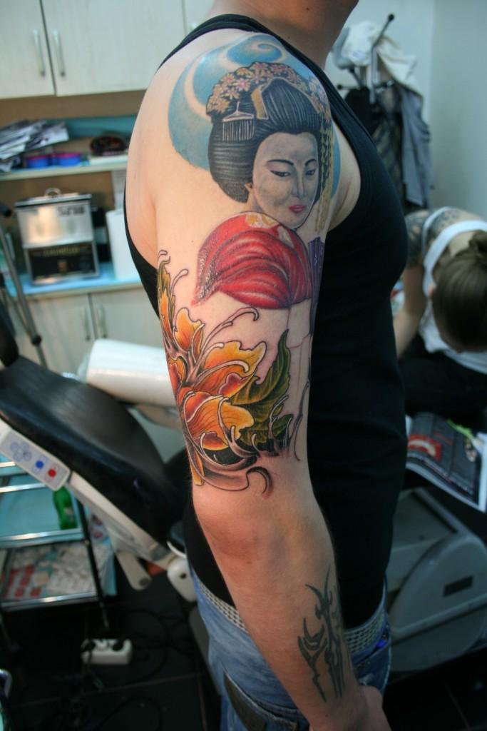 Traditional Geisha Tattoos