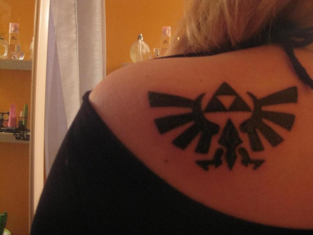 Triforce Tattoo Designs