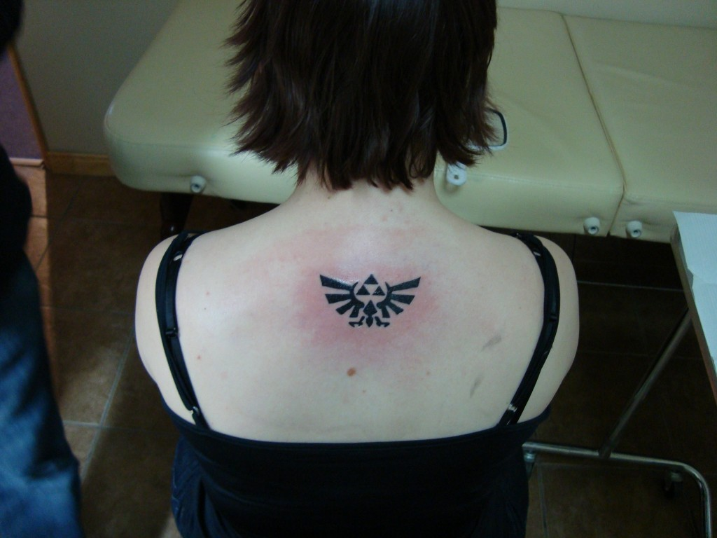 Triforce Tattoo For Women