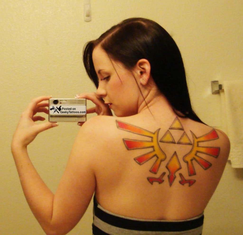 Triforce Tattoos Pictures