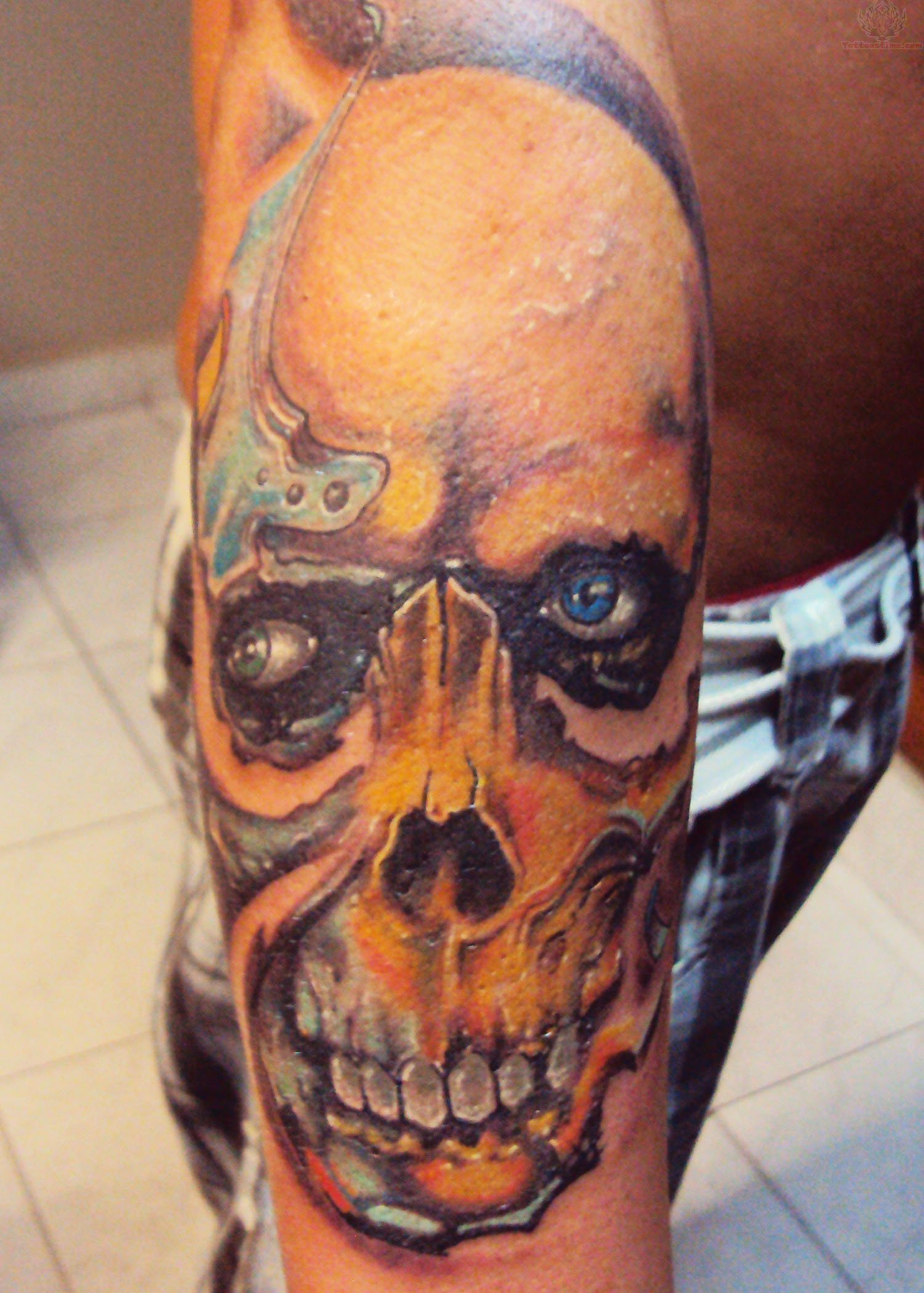 Pattern Ideas For Sleeve Tattoo: Zombie Tattoos Designs, Ideas And Meaning