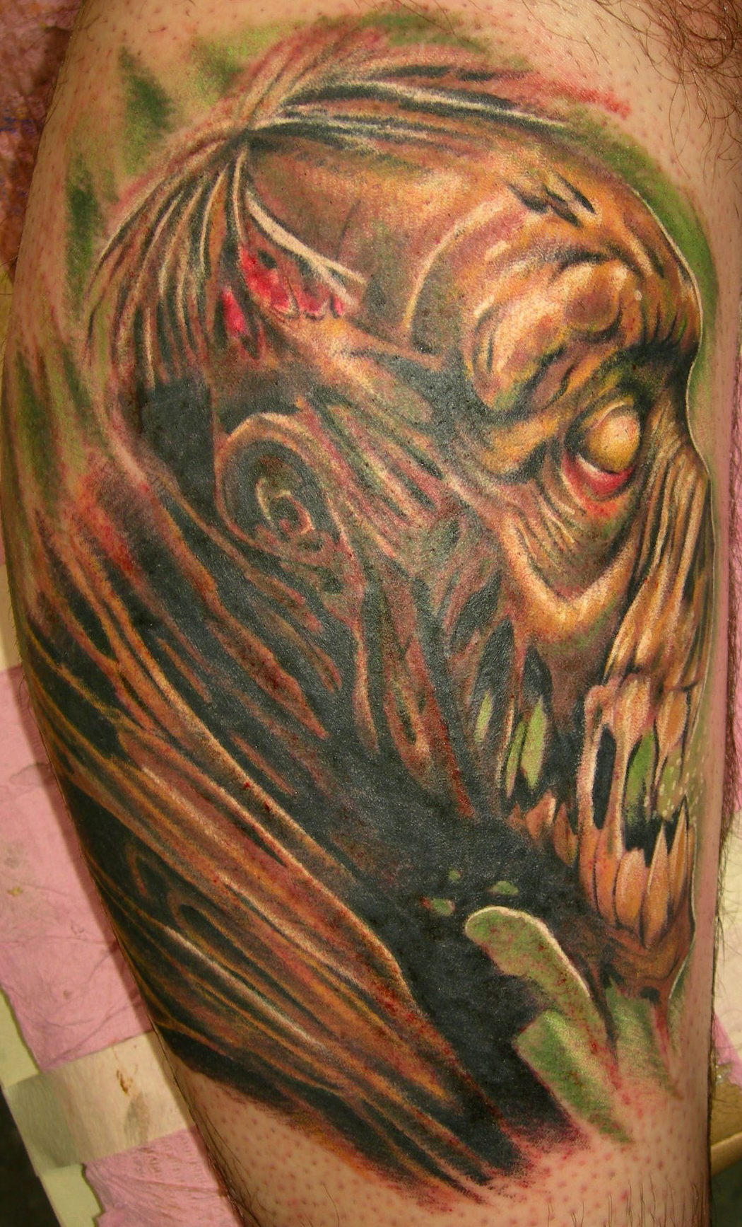 zombie tattoos designs ideas and meaning tattoos for you. Black Bedroom Furniture Sets. Home Design Ideas