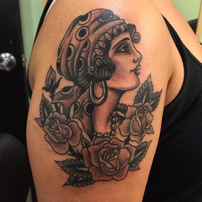 Punk Skull Tattoo Designs