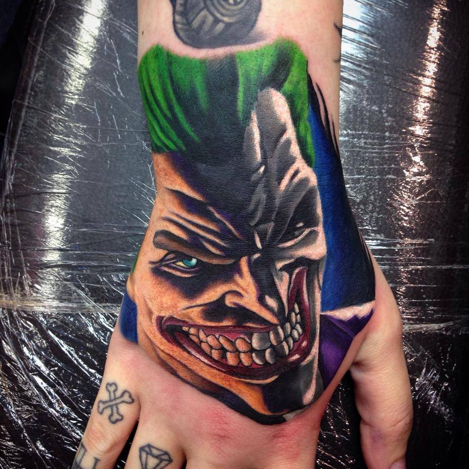 Joker Card Tattoo Ideas