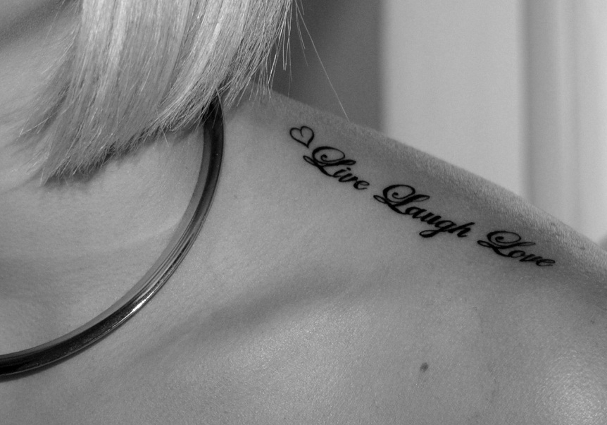 Live Laugh Love Tattoos Designs Ideas And Meaning Tattoos For You