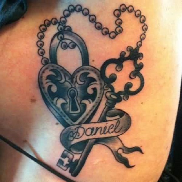 Lock And Key Tattoos Designs, Ideas And Meaning