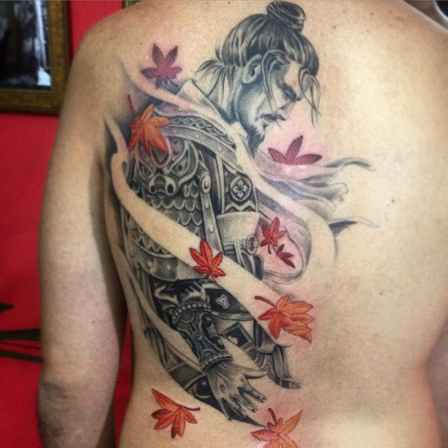 Samurai tattoos designs ideas and meaning tattoos for you for Female samurai tattoo