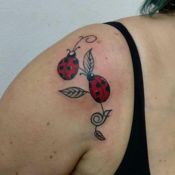 Tattoo Designs Tattoo Pictures: Ladybug Tattoos Designs, Ideas And Meaning