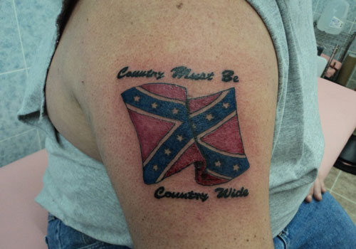Rebel Flag Tattoos Designs Ideas And Meaning Tattoos For You
