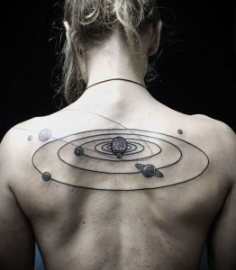 Astronomy Tattoo