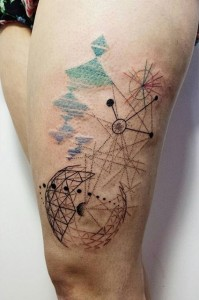 Astronomy Tattoos Pictures
