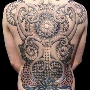 Back Piece Tattoo Designs