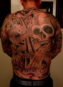 Back Piece Tattoo Ideas