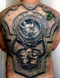 Back Piece Tattoos for Men