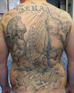 Back Tattoo Pieces
