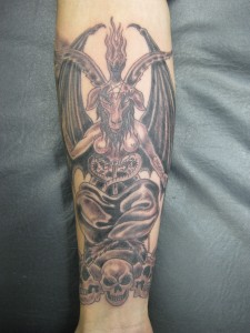 Baphomet Tattoo Images