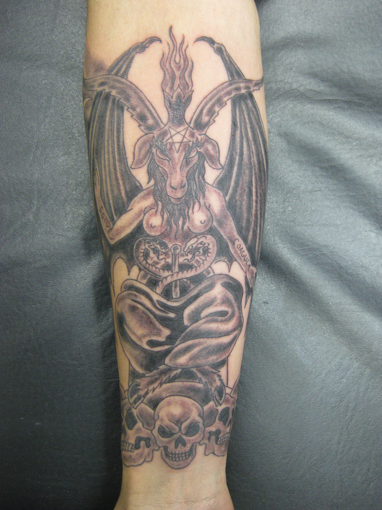 Baphomet Tattoos Designs, Ideas and Meaning | Tattoos For You