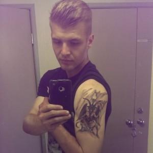 Baphomet Tattoo Sleeve