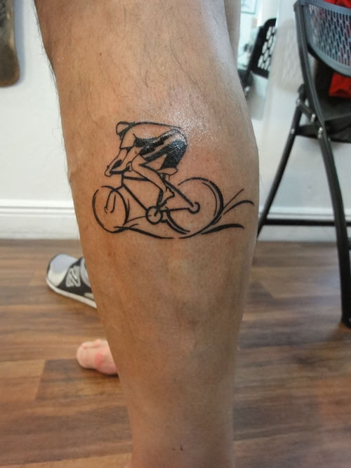 bicycle tattoos designs ideas and meaning tattoos for you. Black Bedroom Furniture Sets. Home Design Ideas