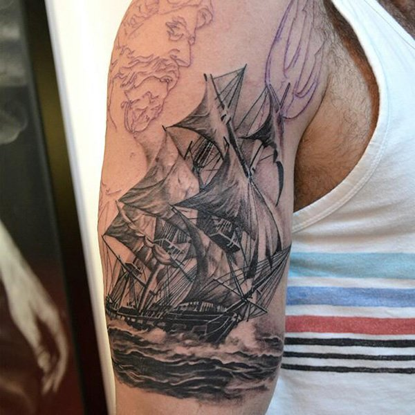 Underarm Tattoos Designs Ideas And Meaning: Boat Tattoos Designs, Ideas And Meaning