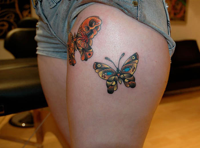 Female Thigh Tattoos Designs Ideas And Meaning Tattoos For You
