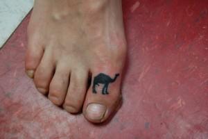 Camel Toe Tattoo Ideas