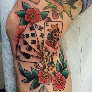 Card Gambling Tattoos