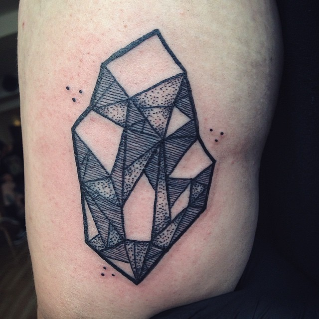 Crystal Tattoos Designs, Ideas And Meaning