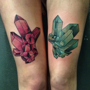 Crystal Tattoo Images