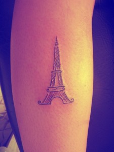 Eiffel Tower Tattoo Images