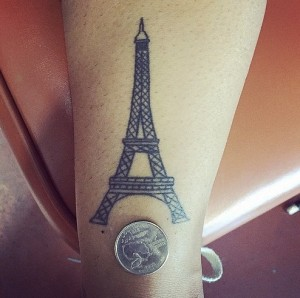 Eiffel Tower Tattoo Pictures