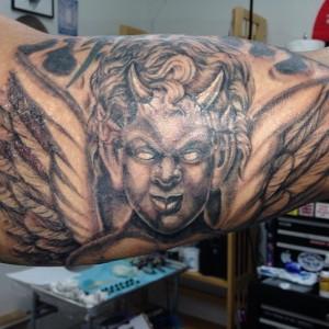 Evil Cherub Tattoos