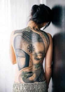 Female Back Piece Tattoos