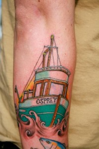 Fishing Boat Tattoos