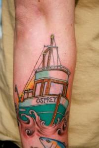 Fishing Boat Tattoos