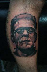 Frankenstein Tattoo Images