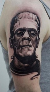 Frankenstein Tattoos