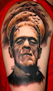 Frankenstein Tattoos Pictures