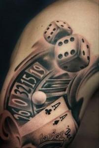 Gamble Tattoo
