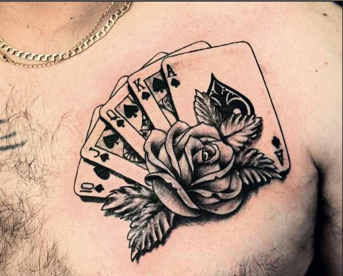 Gambling tattoo ideas