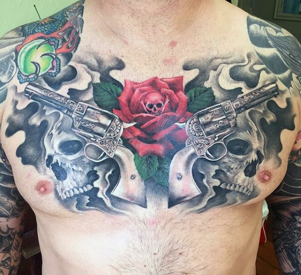 Guns and Roses Tattoos Designs, Ideas and Meaning ...