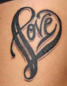 Heart Tribal Tattoo