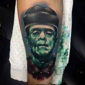 Images of Frankenstein Tattoo