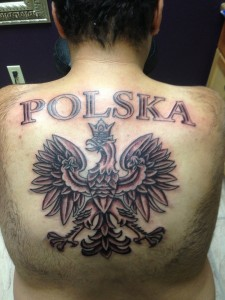 Images of Polish Eagle Tattoo