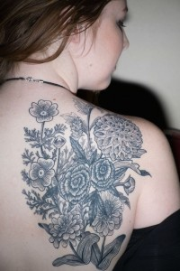 Images of Wildflower Tattoo