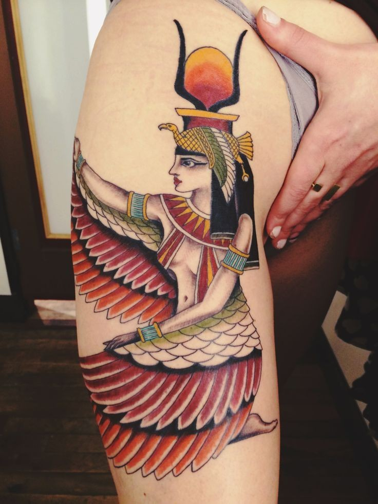 Isis Tattoos Designs, Ideas and Meaning | Tattoos For You
