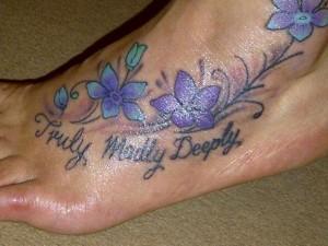 Lilac Flower Tattoos